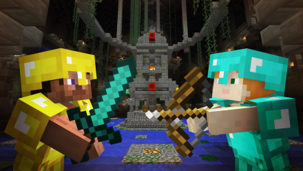 Minecraft (Battle of the day)